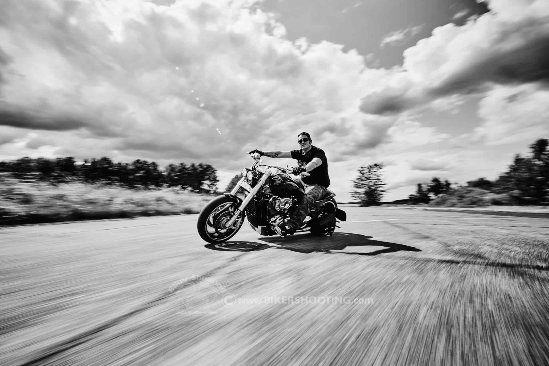 Biker Fotoshooting SPEED Fotoshooting motorrad shooting