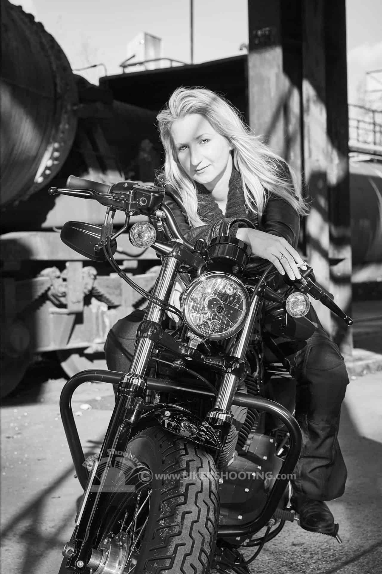 Biker Fotoshooting LADY Fotoshooting