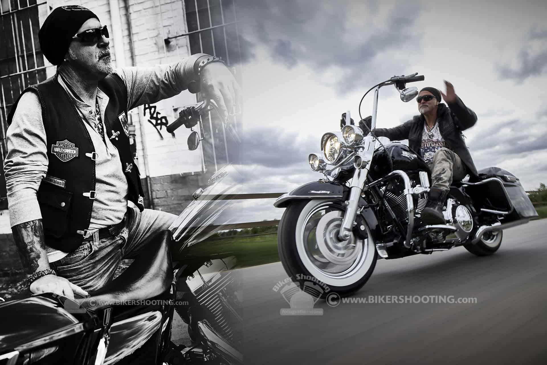 HIGH NOON Biker Fotoshooting HIGH Noon Fotoshooting motorrad shooting